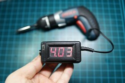 [DIY] 3선 전압계(0~30V)를 이용하여 충전식 미니 전압 테스터기 제작기