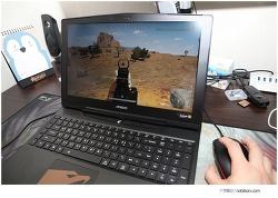 게이밍 마우스 로지텍 Gpro 와 함께 GTX1070 게이밍노트북 즐기기
