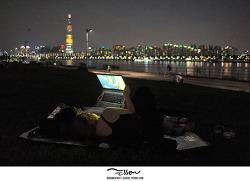 한강시민공원 뚝섬지구 / 야간 데이트