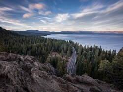 Photographer Sets Special Cameras for 1,000-Year Exposure of Lake Tahoe