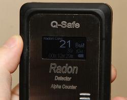 라돈측정기 큐세이프 QSF104R 라돈아이 비교 더 정밀한 측정기