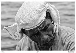 노동자 / 흑백사진