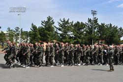 신병 1244기 3교육대 1주차 - 군사기초훈련
