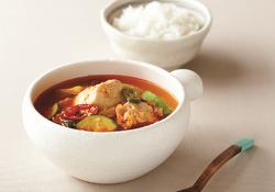순두부찌개 * 환절기 감기에 좋은 간단한 요리 레시피!