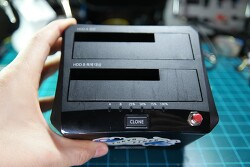 [DIY] 빌리오톤 2베이 USB3.0 하드독(HDD 도킹스테이션) - 전면에 ON/OFF 스위치 달기