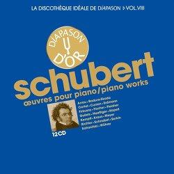 [작품집] Schubert - Works for Piano - (12CDs, Diapason, 2016)