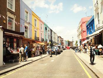 런던여행, 노팅힐 게이트, 포토벨로 마켓