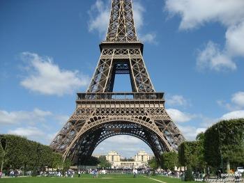 에펠탑 (Eiffel Tower) 에서 바라본 파리 풍경