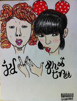 [지후트리작업실][색연필 일러스트] J.D + GHOOTREE