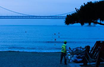 광안리 - 새벽 광안리 해변