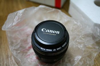 캐논 50.4 리뷰 ( EF 50mm F1.4 USM )