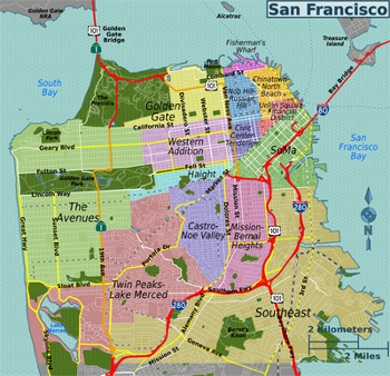 San Francisco Fisherman's Wharf & Bay Area Travel Planner