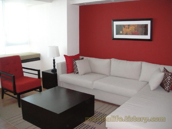 Philippines Manila Condo For Rent Shangri-La Place ST.Francis Tower 2BR 124SQM 120K Furnished
