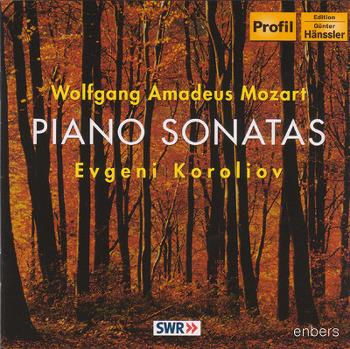 [CD] Evgeni Koroliov (예프게니 코릴리오프) - Mozart piano sonata