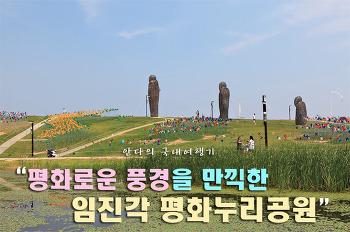 평화로움을 만끽한 임진각 평화누리공원