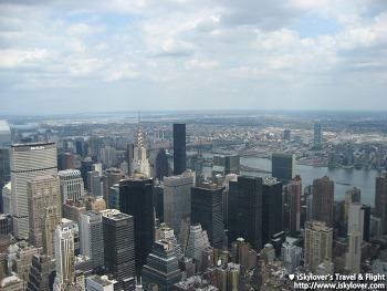 엠파이어 스테이트 빌딩에서 바라본 뉴욕 (Empire State Building)