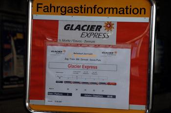 Glacier Express 스위스 빙하특급 열차 (체르마트-생모리츠)