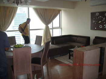 Manila Condo For Rent Shangri-La Place ST.Francis Tower 2BR 120SQM Funished 120K Ortigas Mandaluyong