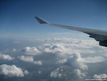 런던으로 향하는 길 - 대한항공 KE907