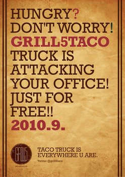 [EVENT] Grill5taco truck office attack!!