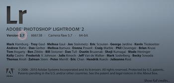 라이트룸 2.7 마지막 베타 릴리즈 (Lightroom 2.7 Release Candidate)