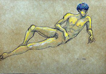 Nude croquis 203