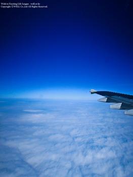 부산가는 비행기 안에서 하늘 담기.