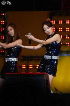 tbs행복콘서트 소녀시대-run devil run
