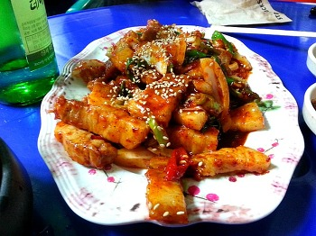 [부산 화명동] 똑쉐프의 36번째 맛집!!!이모네!!!꼬막!!!두루치기!!!