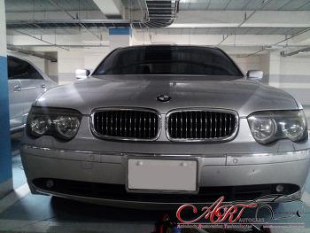 BMW7시리즈 헤드라이트복원
