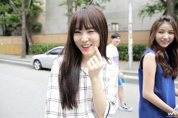 150717 - 여자친구 소원 유주 @KBS 뮤비뱅크 퇴근길