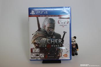 PS4 더 위쳐3 와일드 헌트 Day2 에디션 밀봉