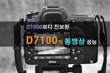 D7000보다 진보된 D7100의 동영상 성능을 알아보다