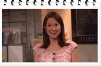 엘리 켐퍼, 더 오피스에서의 에린 역의 배우를 소개합니다.