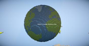 [소멜군] 마인크래프트 지구/행성 세이브파일 소개 및 다운로드