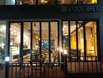 세종시 STOCK&BREW(스톡앤브루) 파스타와 커피가 있는 곳