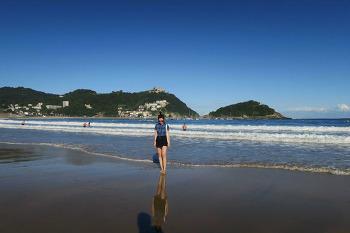 San Sebastián, 핀쵸바 투어, 라콘차 해변, 그리고 마지막으로 다시 올드타운 둘러보기