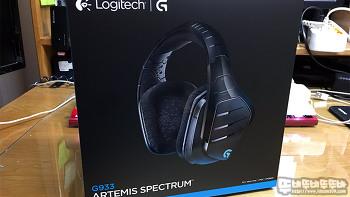 돌비 DTS 헤드폰 X 를 지원하는 로지텍 G933