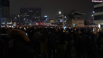 2016년11월26일 광화문 촛불시위 참가