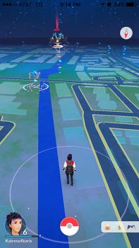 인디애나폴리스 카날은 포켓몬고(Pokemon go) 전쟁 중