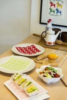 키친클로스로 간단하게 북유럽 스타일 봄맞이 인테리어 꾸미기! 키친 클로스, 패턴 패브릭 쿠션, 조명 활용하기!