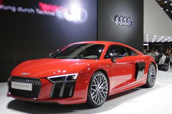 2016 부산 국제 모터쇼 Audi R8