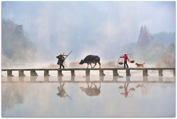 중국 주담산 새벽2ㅡ14