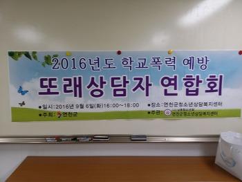 2016 또래상담자 연합회 및 또래상담교사 연구모임