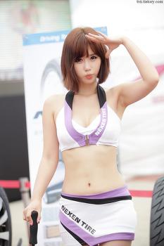 2013 넥센 코리아 스피드레이싱 3전 레이싱모델 송지나