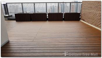광교 e편한세상 옥상 테라스 설치공사