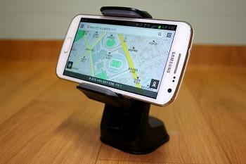 [체험단] 장착만 하면 T맵이 실행되는 신개념 픽스원터치마운트 NFC 스마트폰 거치대