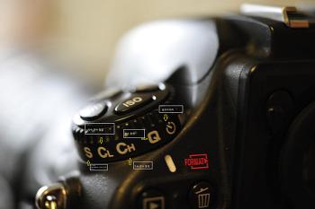 D800 사용법 버튼 1