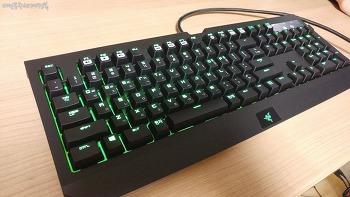 레이저(Razer) 블랙위도우 얼티메이트 2016, 게이머를 위한 키보드! 기계식 키보드 개봉기