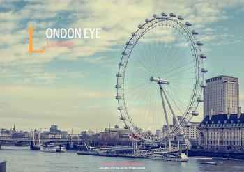 런던가면 꼭 가야 되는 곳, '런던아이'